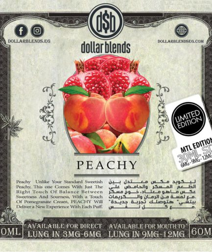 DOLLAR BLENDS PEACHY E-LIQUID