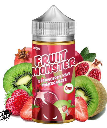FRUIT MONSTER STRAWBERRY KIWI POMEGRANATE E-LIQUID