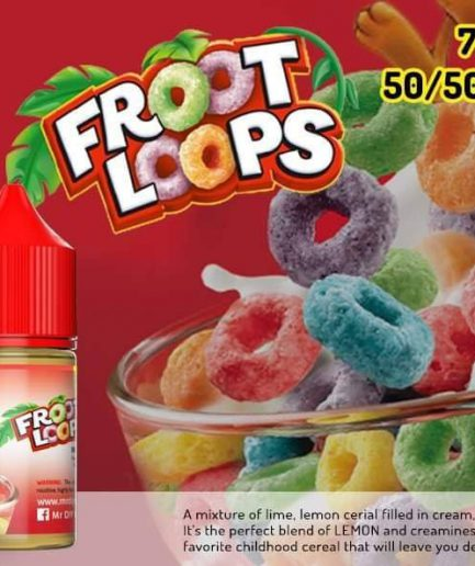 MR DIY FROOT LOOPS E-LIQUID