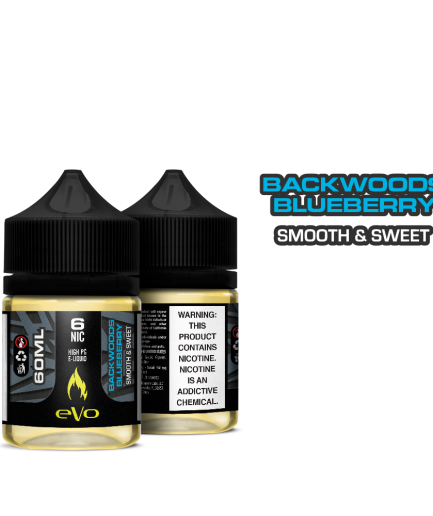 EVO BACKWOODS BLUEBERRY MTL E-LIQUID