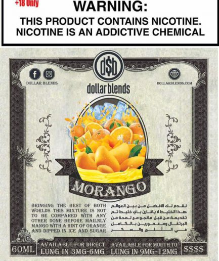 DOLLAR BLENDS MORANGO MTL E-LIQUID