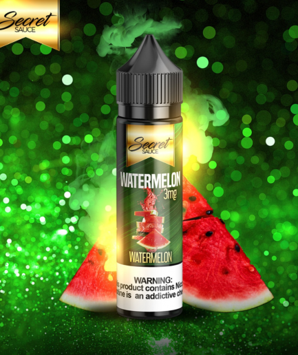 SECRET SAUCE WATERMELON MTL E-LIQUID