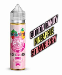 ENZO COTTON CANDY PINEAPPLE STRAWBERRY E-LIQUID