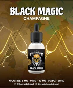 CRYSTAL HEAD BLACK MAGIC MTL E-LIQUID