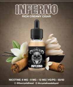 CRYSTAL HEAD INFERNO MTL E-LIQUID