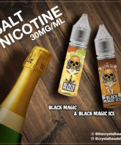 CRYSTAL HEAD BLACK MAGIC ICE SALT NIC. E-LIQUID