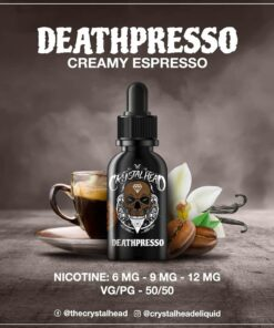CRYSTAL HEAD DEATHPRESSO MTL E-LIQUID