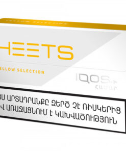 IQOS EUROPEAN  HEETS YELLOW SELECTION