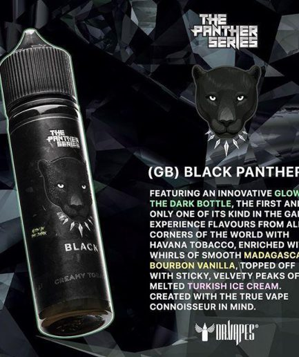 BLACK PANTHER BY DR VAPES E-LIQUID