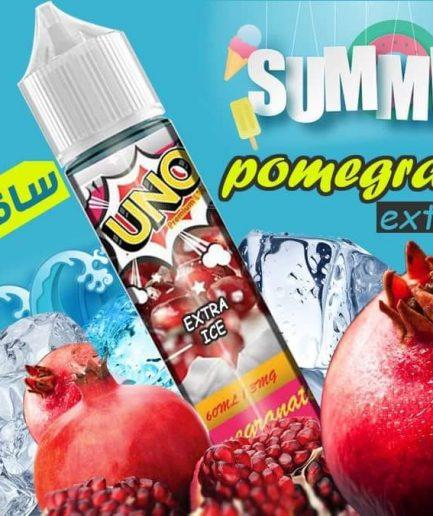UNO POMEGRANATE EXTRA ICE E-LIQUID IN EGYPT
