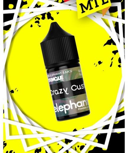 ELEPHANT CRAZY CUSTARD MTL E-LIQUID