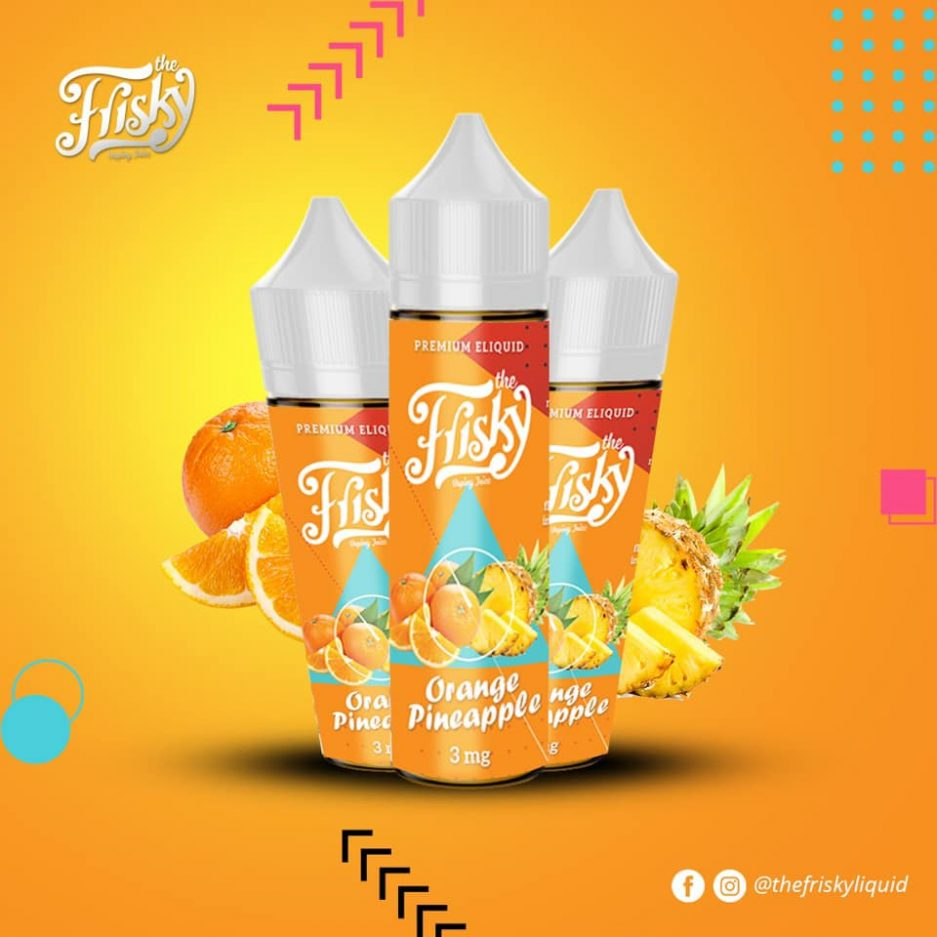 FRISKY ORANGE PINEAPPLE E-LIQUID