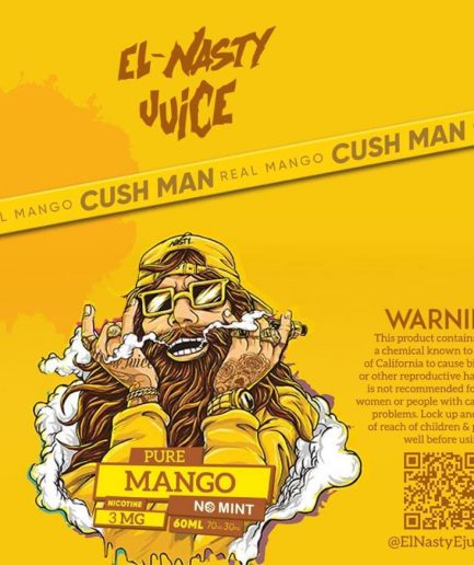 EL NASTY PURE MANGO NO MINT E-LIQUID