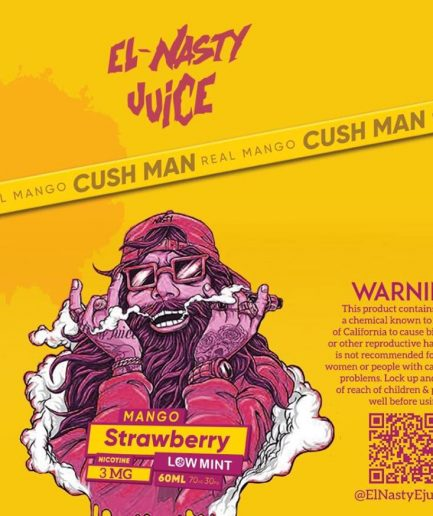 ELNASTY MANGO STRAWBERRY E-LIQUID