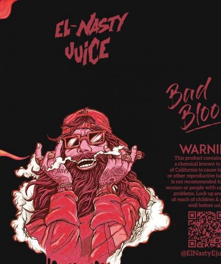 EL NASTY BAD BLOOD E-LIQUID