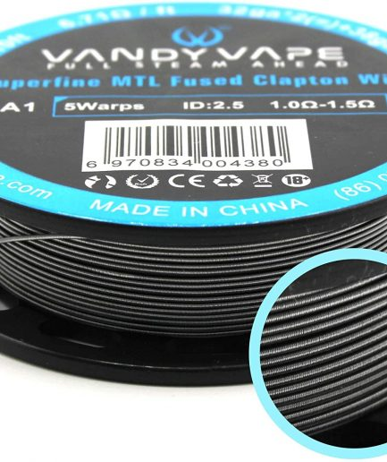 VANDY VAPE KA1 Superfine MTL Fused Clapton SPOOL