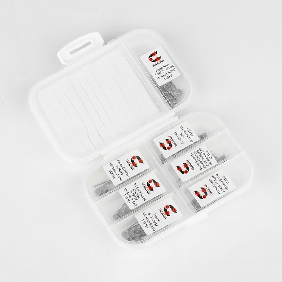 Coilology 7 in 1 Pre-Made coils (42pcs)