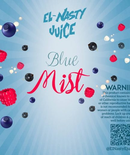 EL NASTY BLUE MIST E-LIQUID