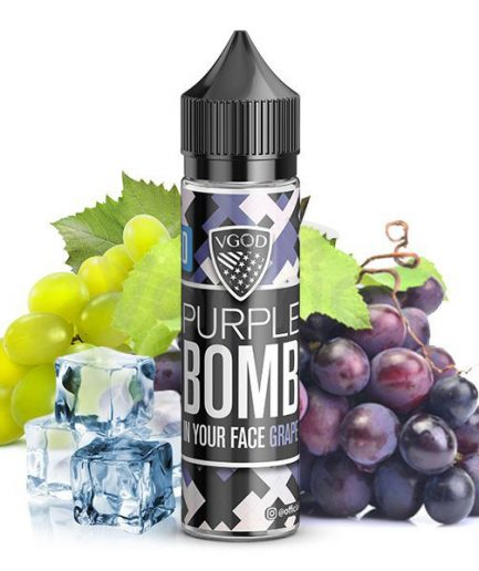 VGOD ICED PURPLE BOMB MTL EJUICE