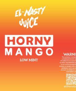 EL NASTY HORNY MANGO LOW MINT E-LIQUID
