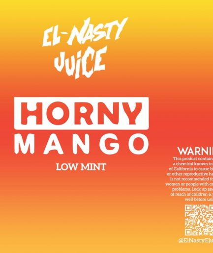 EL NASTY HORNY MANGO LOW MINT E-LIQUID