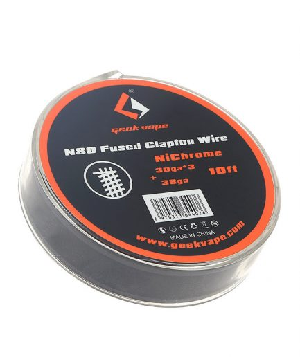 GEEKVAPE N80 FUSED CLAPTON WIRE SPOOL 30GA*3+38GA 10ft
